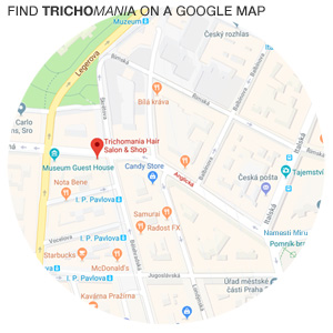 Trichomania location on a google map